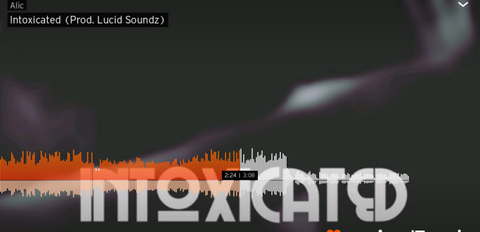 Intoxicated (Prod. Lucid Soundz) – Song of the Day